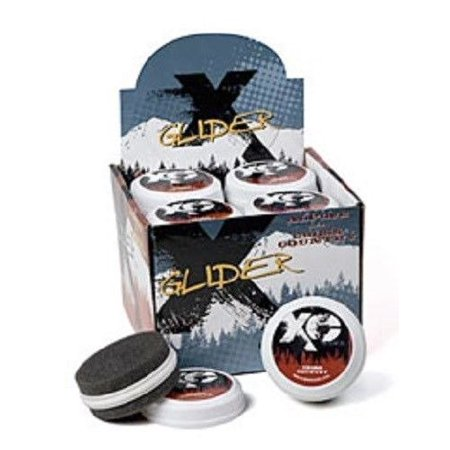 New Whitewoods XA Alpine Downhill Ski Snowboard Pocket Sz Glide Wax + Applicator, Alpine Rub On Easily to Use Ski Glide Wax By Erik