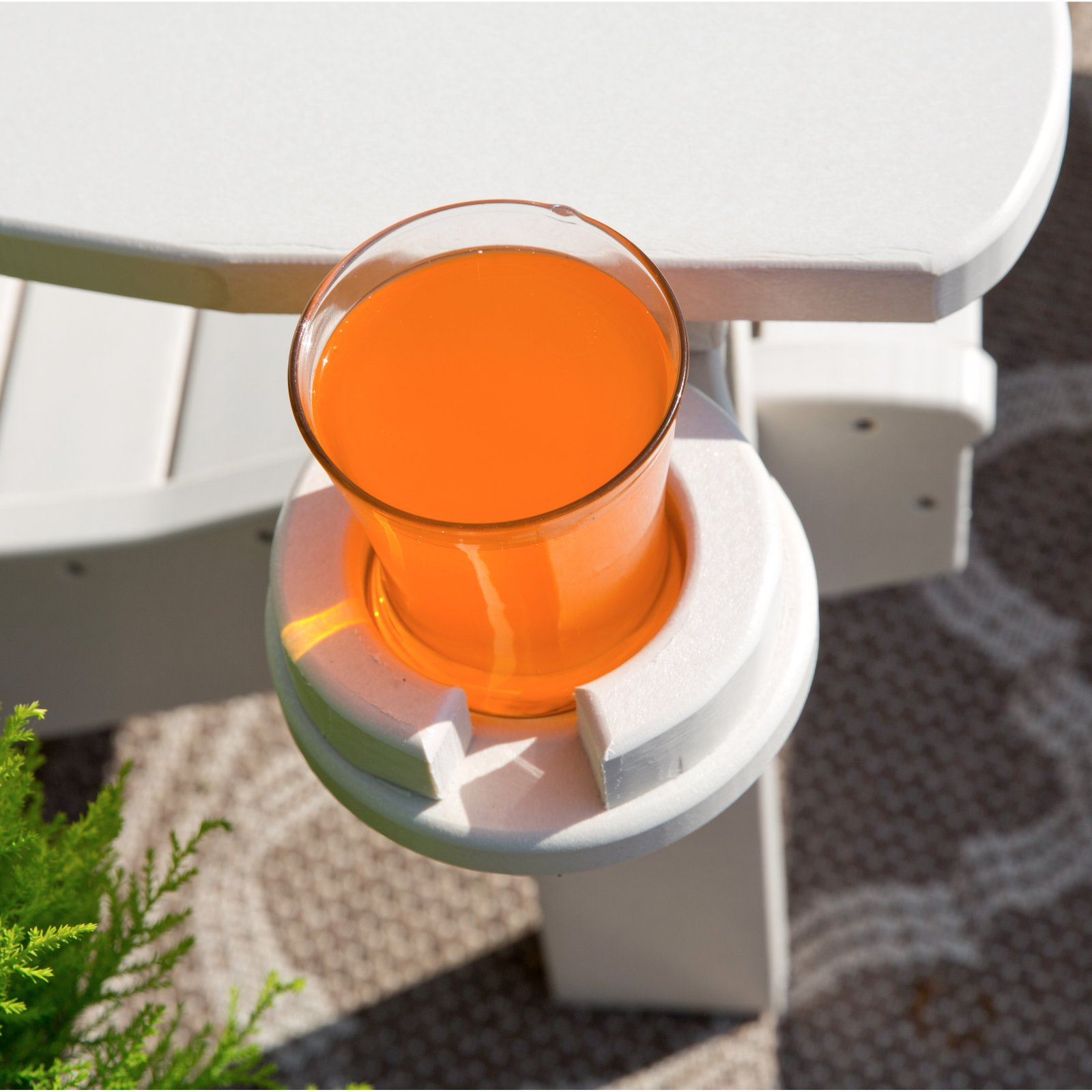 Yardcraft Products Llc Poly Cup Holder For Adirondack Chair