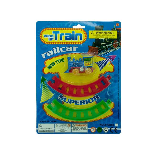 Bulk Buys OC259-96 Wind Up Toy Train With Track Set - image 1 of 1