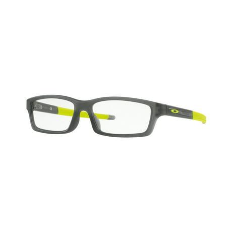 a4fe25e72f Oakley 0OX8111 Crosslink Youth (A) Full Rim Square Eyeglasses for Unisex - Size  53 - Walmart.com