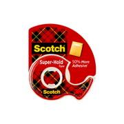 Scotch Super Hold Clear Tape Dispenser, 3/4in. x 650in., 1 Dispenser