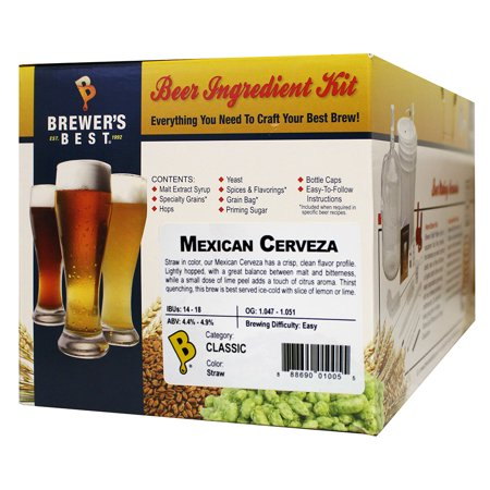 Brewer's Best Home Brew Beer Ingredient Kit - 5 Gallon (Mexican