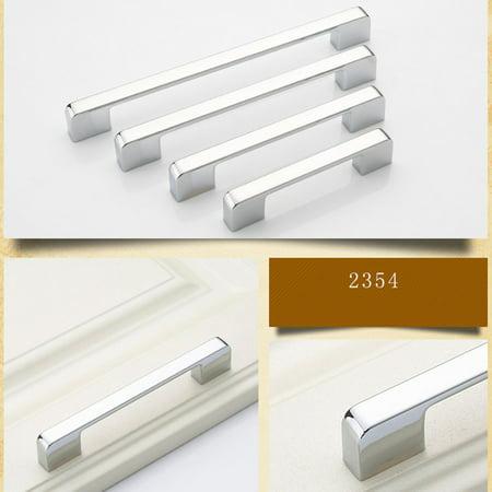 Practical Solid Modern Zinc Alloy Wardrobe Door Handle Simple Furniture Cabinet Drawer Door Handle Knob Home Decoration - image 4 of 7