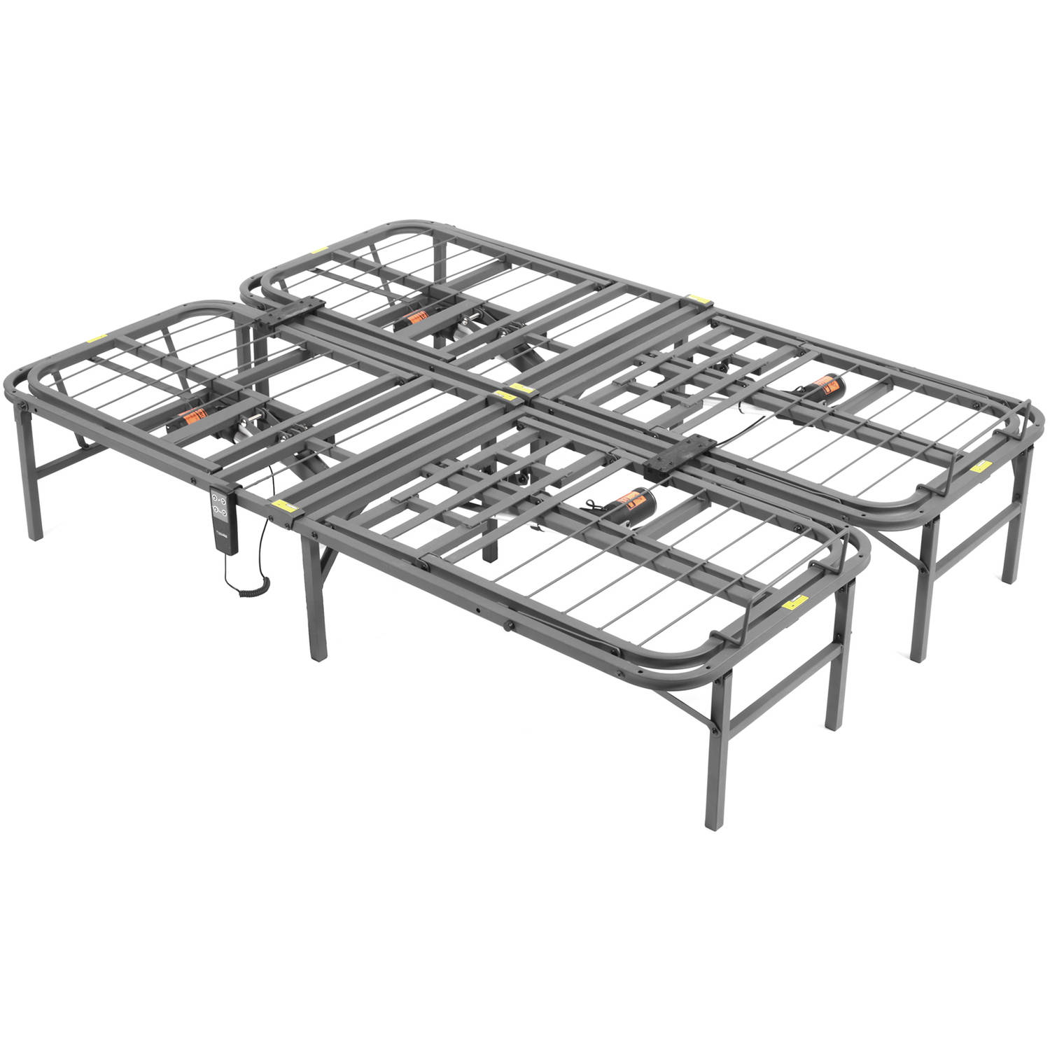 Pragmatic 14 High Profile Dual Adjustable Steel Bed Frame With