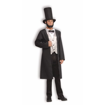 Abe Lincoln Adult Halloween Costume - Halloween Parties In Lincoln Park Chicago