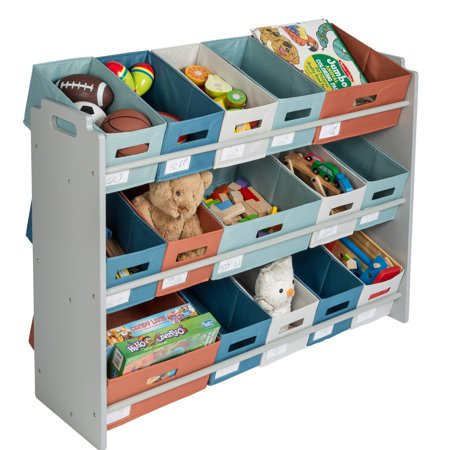 Honey Can Do Kid's Toy Storage and Sorter, Multiple Colors - Childrens Store