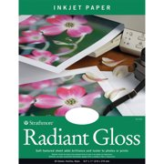"""Strathmore Radiant Gloss Artist Inkjet Paper Sheets, 8.5"""" x 11"""""""