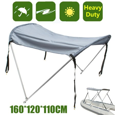 2 Bow Boat Bimini Top Canopy Cover 45