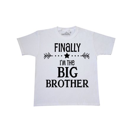 Finally I'm the Big Brother Youth T-Shirt