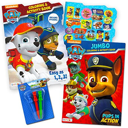 Paw Patrol Coloring Book Super Set 2 Coloring And