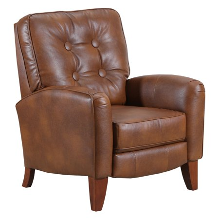 Lane Furniture Fritz Bonded Leather Stationary Recliner Brown