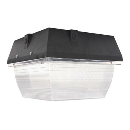 Larson Electronics LEDHCL-900-56K-BRN 120 - 277V AC & 90 watt Brown Traditional LED Canopy Light, Replaces 400 watt Metal Halide Fixtures, IP65 - 5600K Watt Metal Halide Canopy