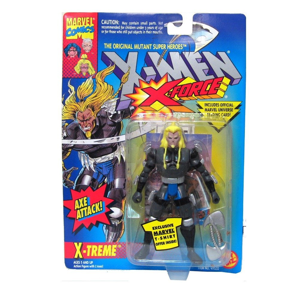 Click here to buy X-Men: X-Force X-Treme Action Figure by Toy Biz.