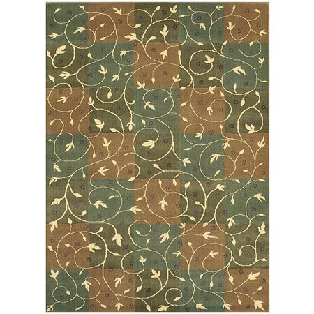 Shaw rugs reverie swirl fern rug - Shaw rugs discontinued ...