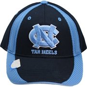 NCAA North Carolina Tar Heels One-Fit Adjustable Velcro Two Tone Hat Blue