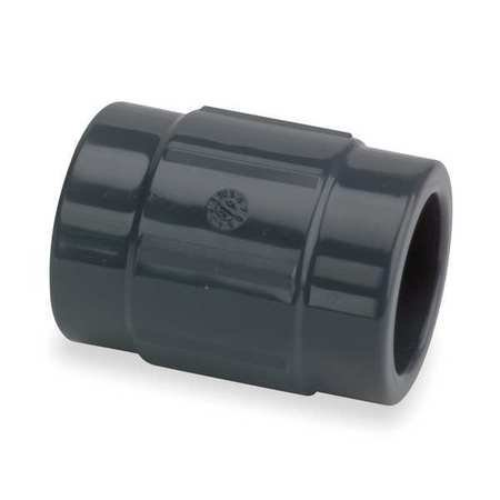 Gf Piping Systems 1 1 4  Fnpt Pvc Coupling Sched 80  830 012