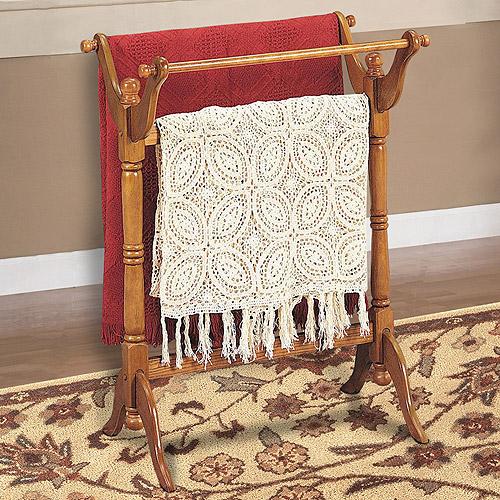 Blanket Rack, Oak