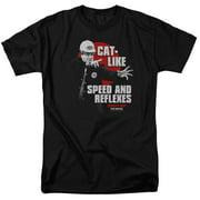 Tommy Boy Cat Like Mens Short Sleeve Shirt