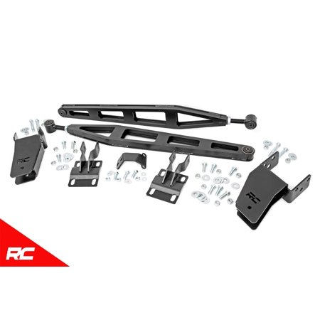 Rough Country Traction Bar Kit Fits 2005-2016 [ Ford ] Super Duty F250 4WD Lift 51003 Traction Bar Kit Lift 06 Super Duty Rough