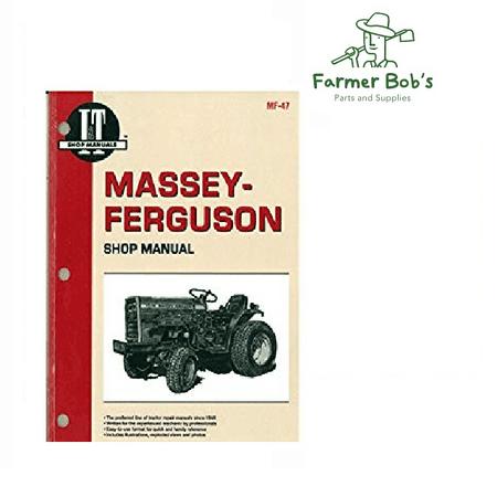I&T Shop Manual, Massey Ferguson - MF1010, & MF1020 Farmer Bob