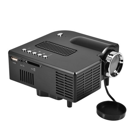 Mini Home Theater LED 1920 x 1080P HD HDMI Projector with Multiple ...