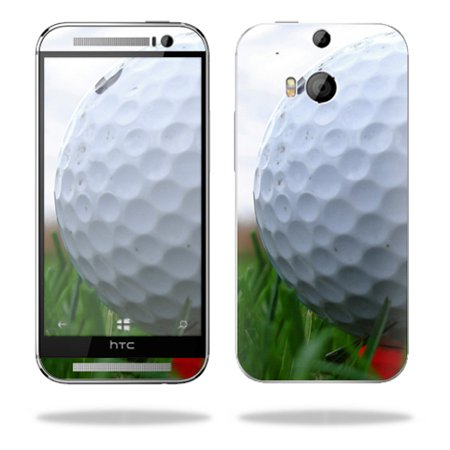 Mightyskins Protective Skin Decal Cover for HTC One M8 wrap sticker skins Golf