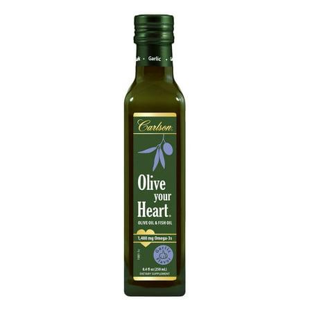 Olive your Heart Garlic Carlson Laboratories 250 ml