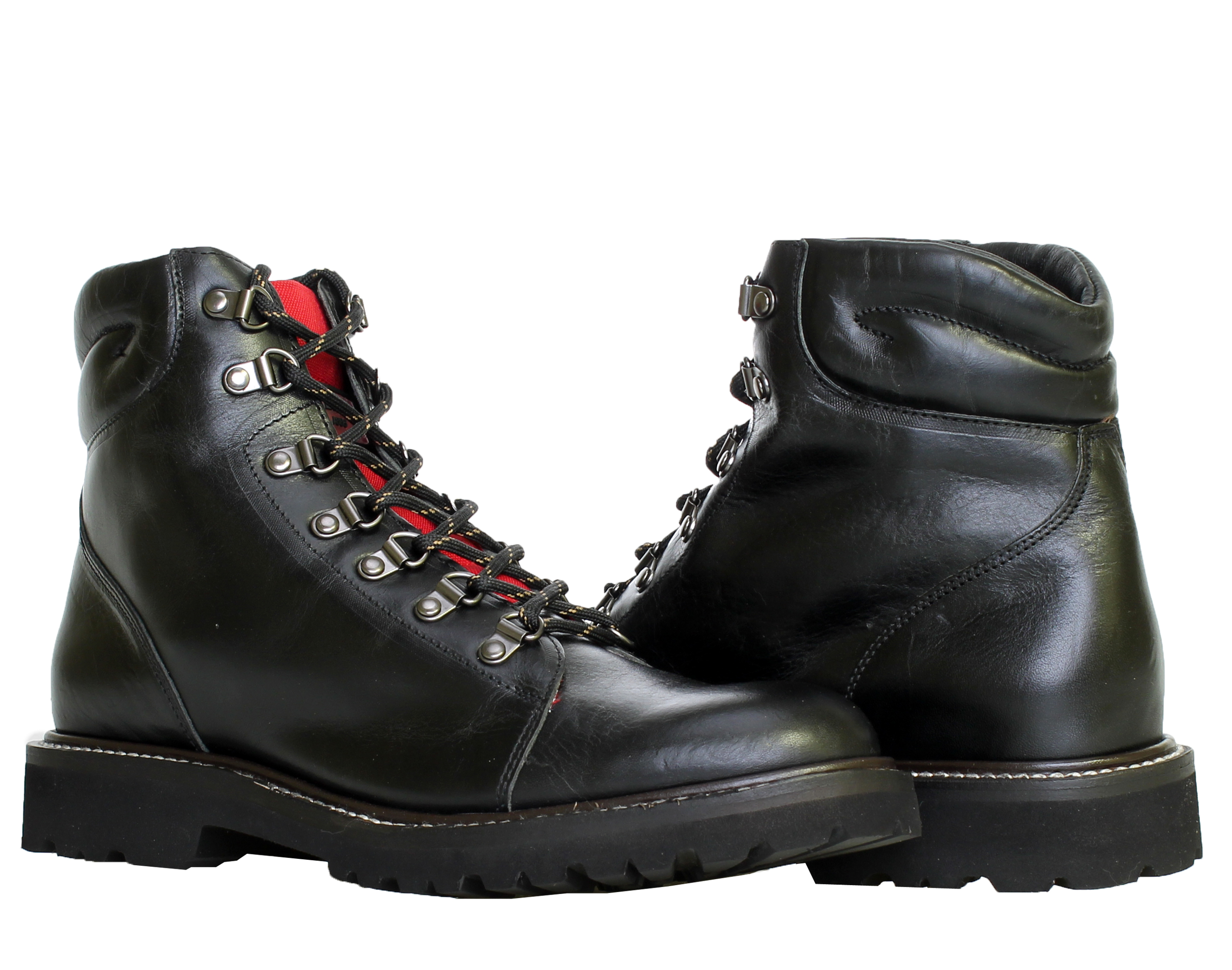 1883 by Wolverine Copeland Hiker Black Men's Boots W40043 by