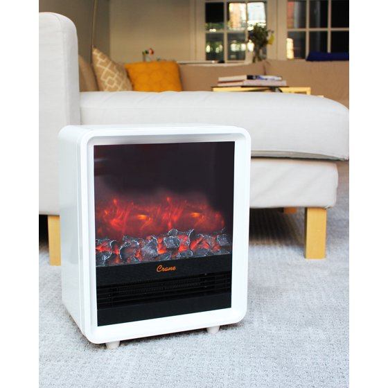 Buy Crane Fireplace Heater - White at Walmart.com