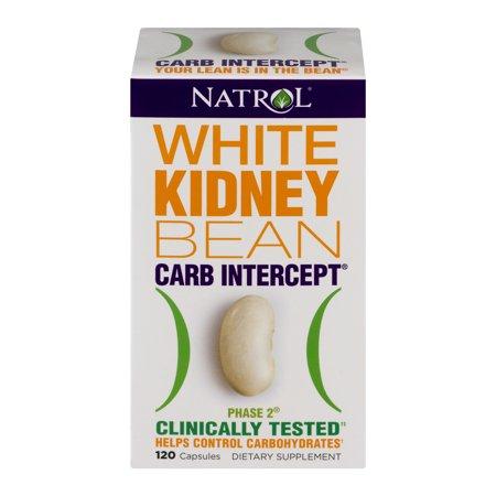 Natrol White Kidney Bean Capsules, 1000 Mg, 120 Ct