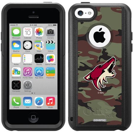Phoenix Coyotes Traditional Camo Design on OtterBox Commuter Series Case for Apple iPhone 5c by