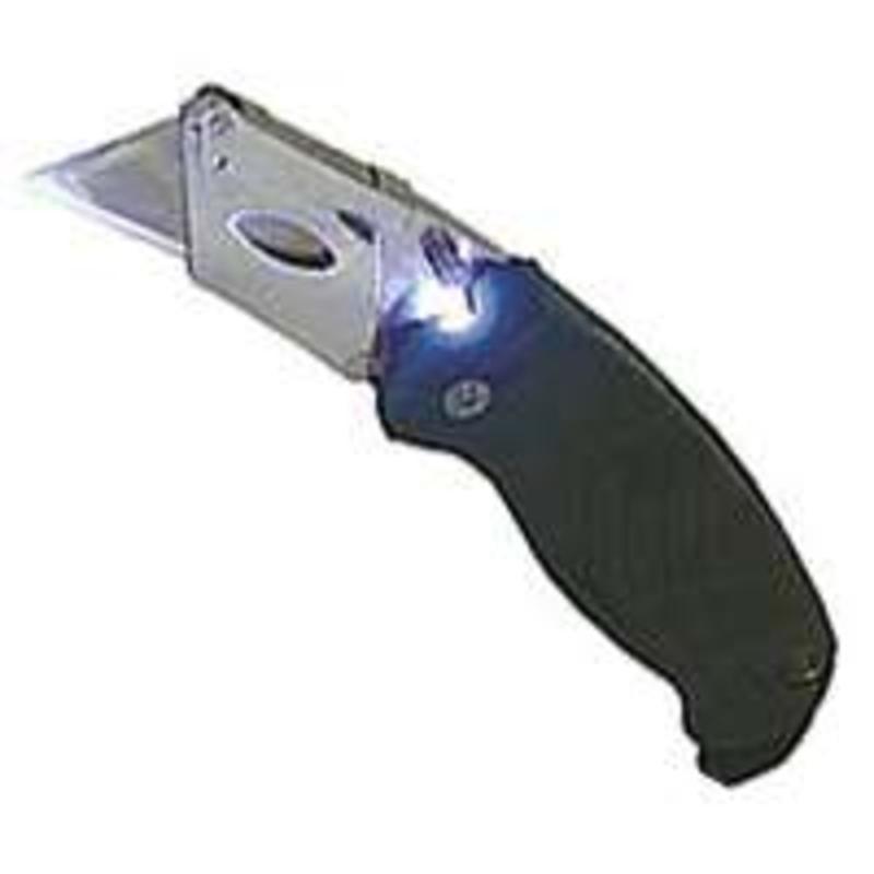 Sheffield 12132 Lighted Camouflage Utility Knife