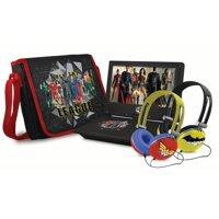"""Ematic Justice League 9"""" Portable DVD Player (WBPDV9800JL)"""