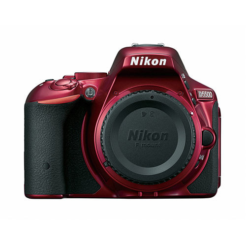 Nikon D5500 Digital SLR Camera with 24.2 Megapixels (Body Only)