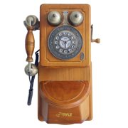 SOUND AROUND-PYLE INDUSTRIES  Retro Home Vintage Country Wall Phone