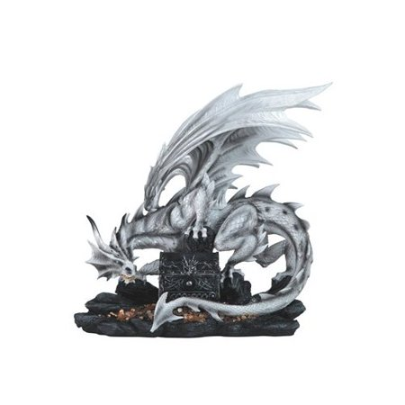 Major Q Large Scale Dragon With Trinket Box Statue