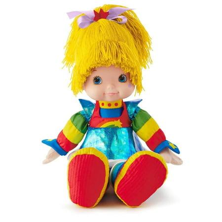 Rainbow Brite Doll Classic Stuffed Animals Birthday, Life is all sunshine and rainbows in Rainbow BriteTMs world! This happy '80s girl with powers over.., By Hallmark](Rainbow Sunshine)