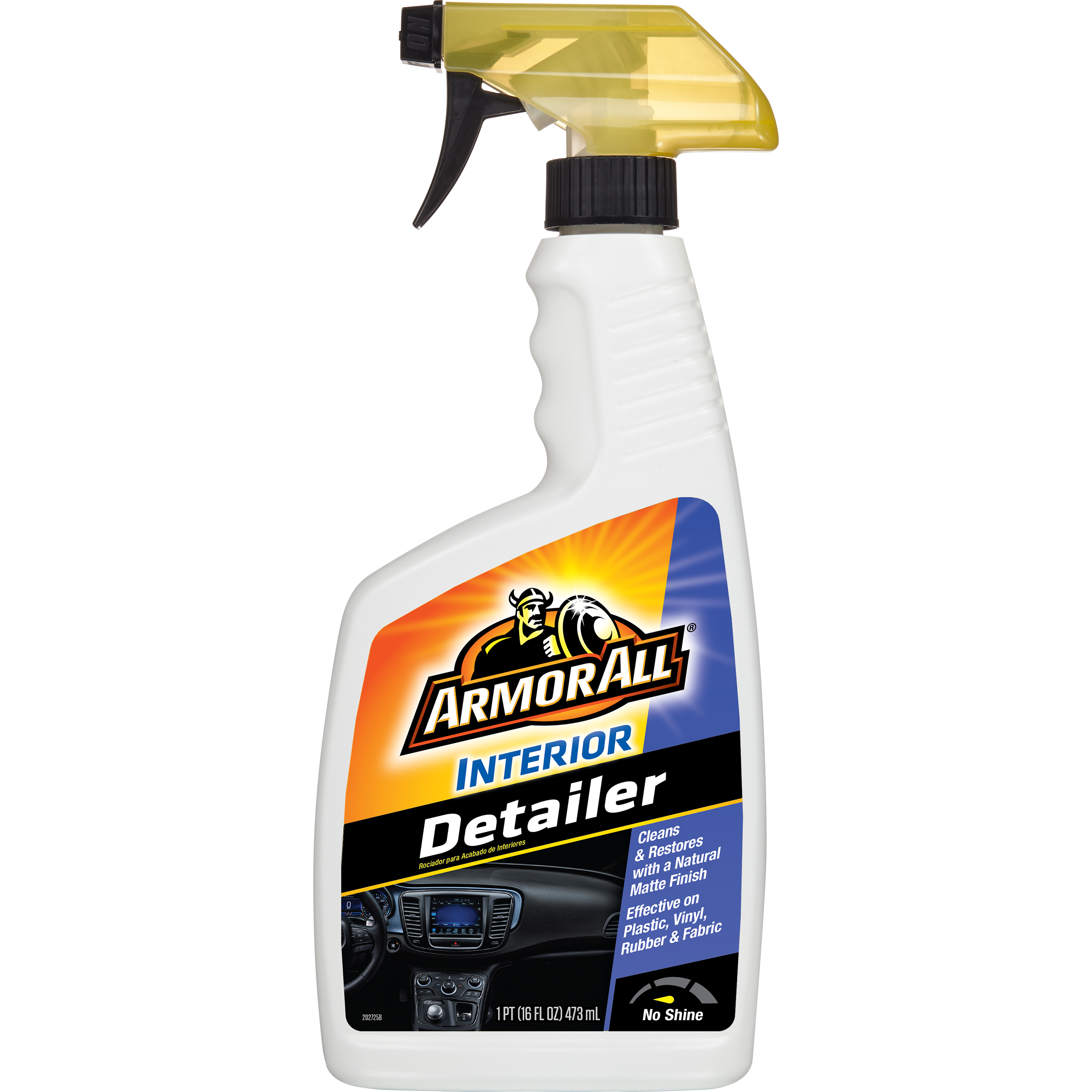Armor All Interior Detailer Protectant, 16 Ounce, Auto Detail, Car Care, 11237B