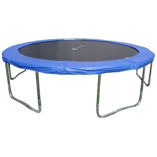 ExacMe 14-Foot Trampoline, with Enclosure and Ladder, Blue (Box 2 of 3)