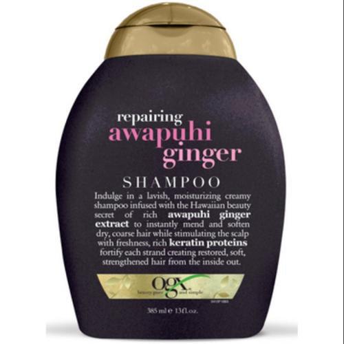 Organix Repairing Awapuhi Ginger Shampoo 13 oz (Pack of 4)