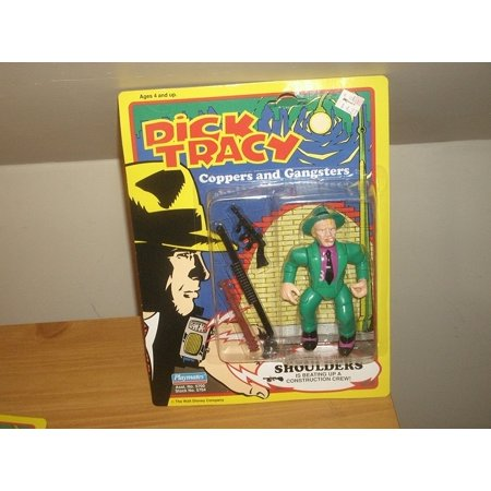 Shoulders Action Figure, By Dick Tracy Ship from US (Dick Tracy Fancy Dress)