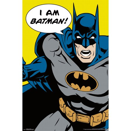 Trends International Batman I Am Batman Collector's Edition Wall Poster 24