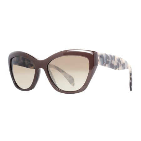 2fc0f38299d90 PRADA - Prada SPR 02Q DHO 4M1 Brown Tortoise Gradient Women s Cat Eye  Sunglasses - Walmart.com