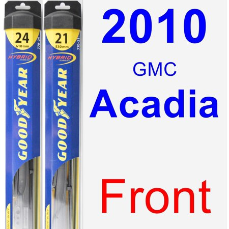 Goodyear Windshield Wipers >> 2010 GMC Acadia Wiper Blade Set/Kit (Front) (2 Blades ...