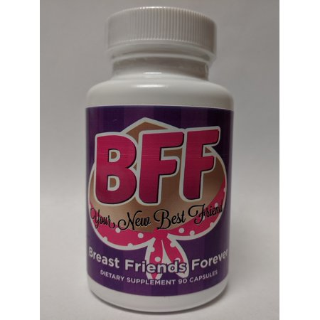 BFF Pills Breast Friends Forever Success in Quick Bust Enhancement 90 (Best Breast Enhancement Pills Reviews)