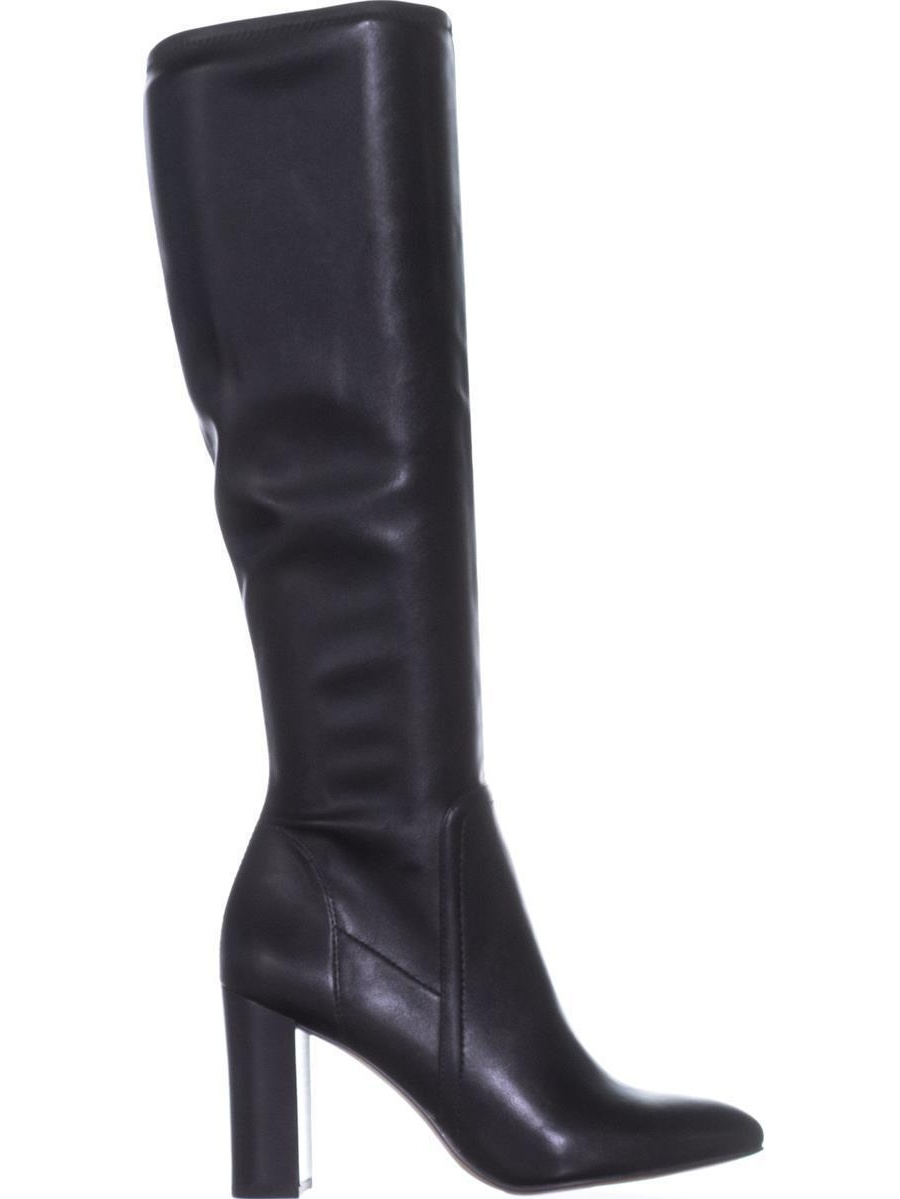 Kolette Faux Leather Leather Leather Knee-High Boots fee722