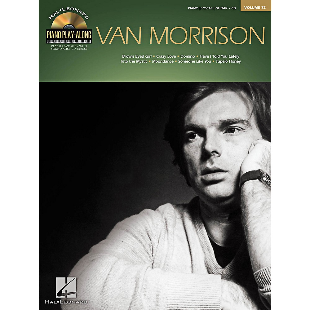 Hal Leonard Van Morrison - Piano Play-Along Volume 72 Book/CD