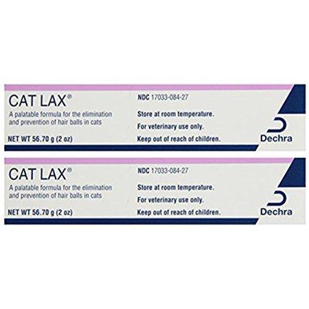 - Dechra Cat Lax Cat Hairball Remedies 2oz (2 Pack)