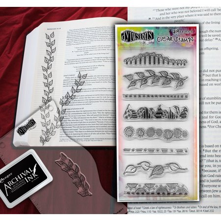 Dylusions Clear Stamp Collection - Clearly Borders (Other)