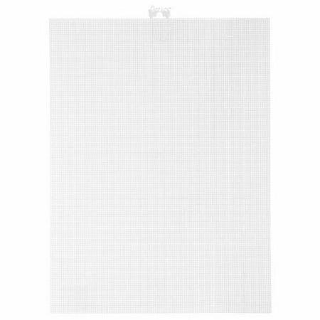 14 Mesh Count White Plastic Canvas 11 x 8.5 Inch 3